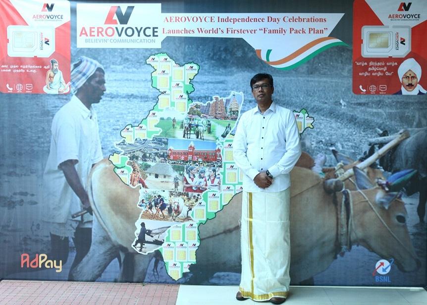 Mr. Sivakumar kuppusamy , CEO & Founder, Aerovoyce Telecom