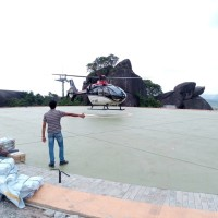 Airbus H135 airlifts relief across areas hardest hit by flooding