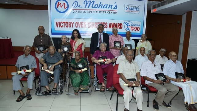 Indian Nonagenarians turn role models for leading long, healthy life with diabetes