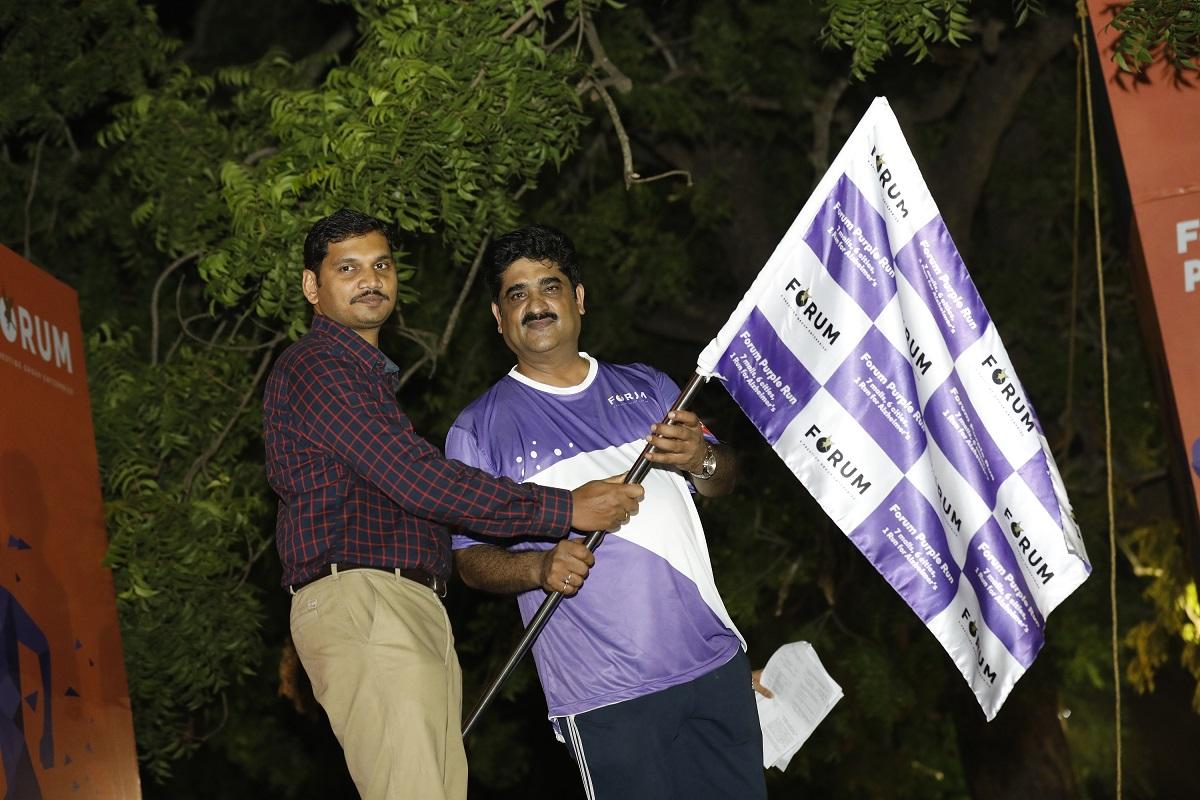 Mr.Umesh Iyer, GM Forum Vijaya Mall & Mithun, Parvathy Hospital