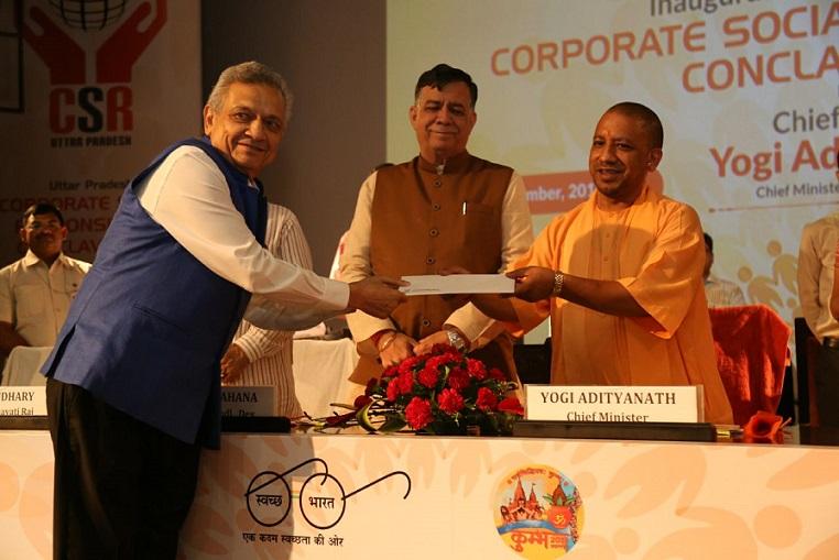 Pic2 Mr. Lalit Khaitan with Honerable CM Yogi Adityanath