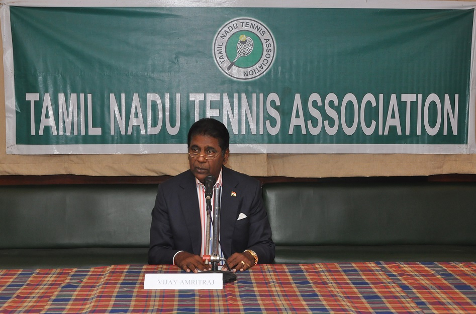 Vijay Amritraj elected as TNTA President
