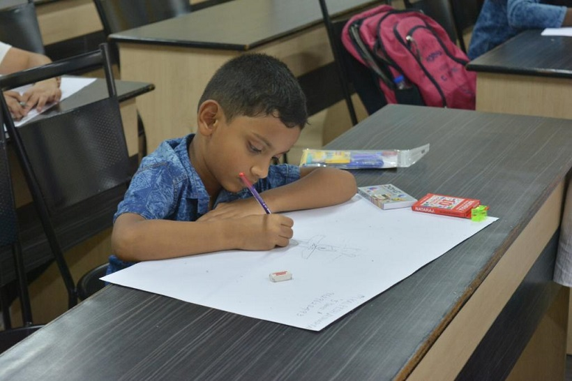 Drawing COmpetition at LIBAzaar 2018