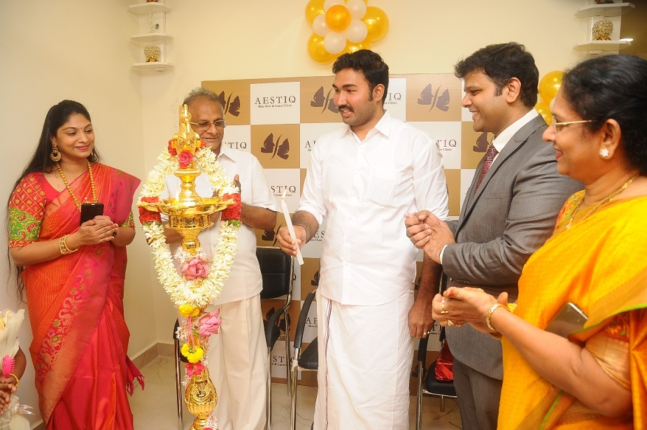 AESTIQ skin & hair laser clinic inaugurated by Dr. J. Jayavardhan Member of Parliament, Lok Sabha - Pic2