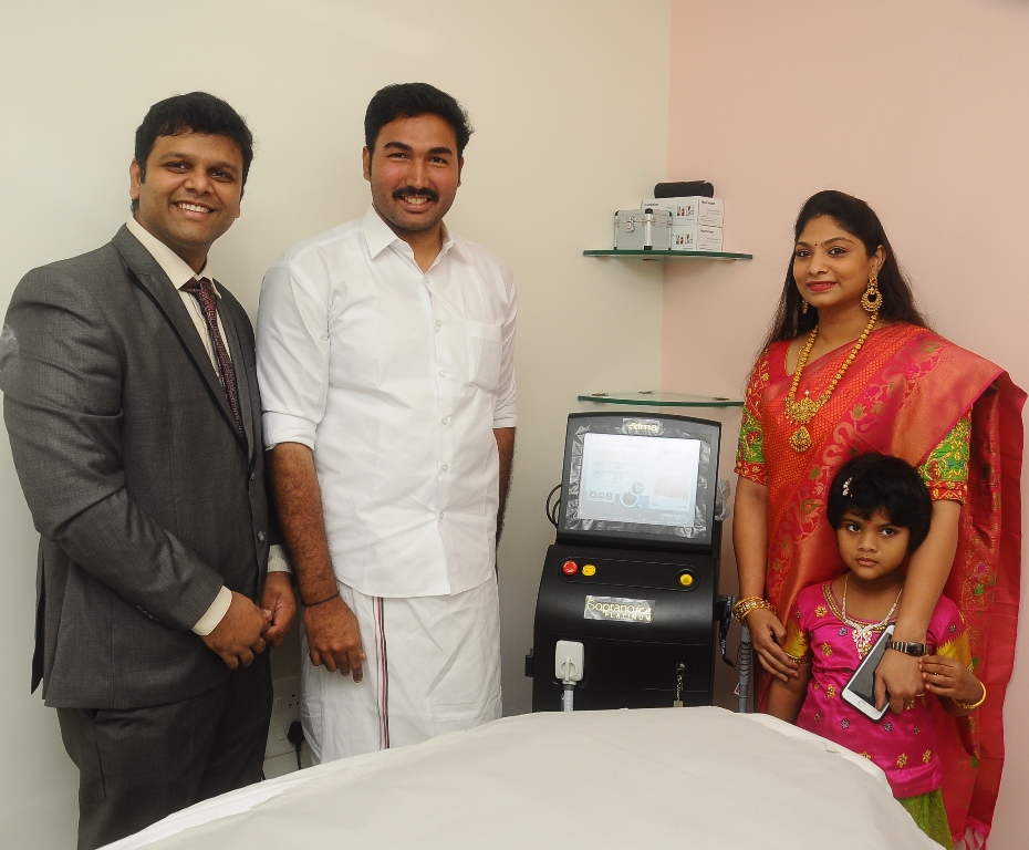 AESTIQ skin & hair laser clinic inaugurated by Dr. J. Jayavardhan Member of Parliament, Lok Sabha - Pic4