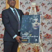 N. Chandramouli, CEO, TRA Research launched India's Most Attractive Brands 2018