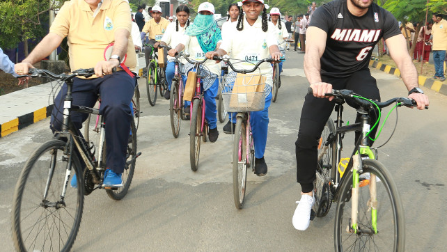 CPCL's Cyclothon adds energy to awareness on fuel conservation