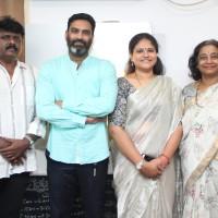 From L-R, Actor GM Sundar, Mr. Ramanan,Founder-Yoga2Go & His Wife, Ms. JaiShree,Ms.Shaarada Sriram, MD, Ideal Play Abacus