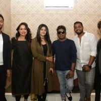 Megha Akash & Yuvan Sharkar Raja along with owner Swetha Sada and her partners