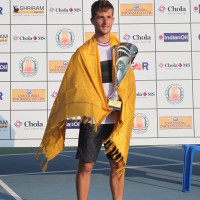 Men's Singles Winner -Corentin Moutet (FRA)