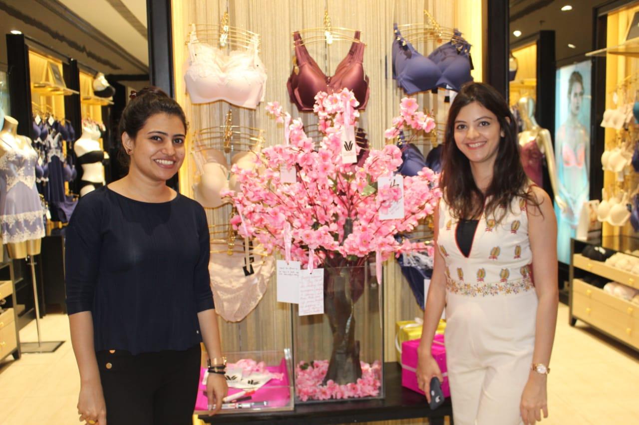 L-R- Aashita Jain, Buyer and Namrata Sule, Deputy Manager Marketing, Wacoal India