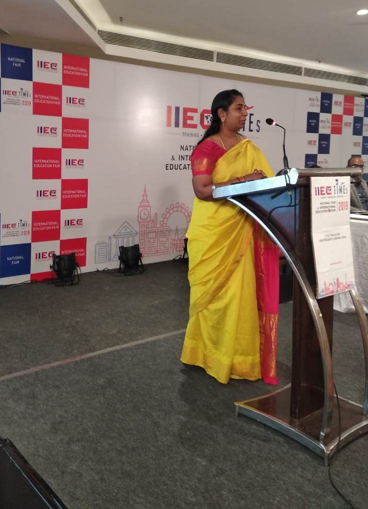 Ms. A. Sri Devi, CEO of IIEC