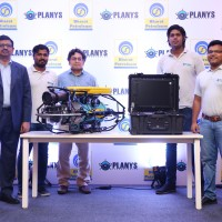 The Planys Core Team with MIKROS (Photo caption enclosed in mail)