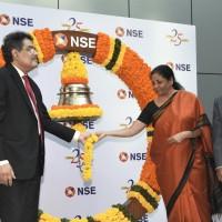 Smt Nirmala Sitharaman, Hon'ble Minister of Finance and Corporate Affairs, Shri Ajay Tyagi , Chairma-1415x907